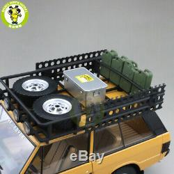 1/18 Land Rover Range Rover CAMEL TROPHY PAPUA GUINEA 1982 Almost Real Model Car