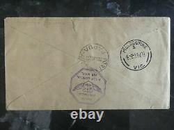 1934 Port Moresby Papua New Guinea First Flight Cover to Brisbane Australia FFC