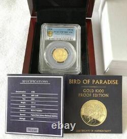 2020 PCGS PR70DCAM Papua New Guinea Gold Coin