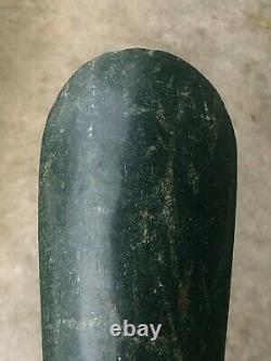 A TOP Dark green Celt/Bride price object Lake Sentani West Papua -New Guinea