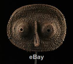 Abelam yam mask, maprik area, papua new guinea, tribal art, oceania