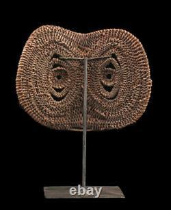Abelam yam mask, masque à igname, papua new guinea, tribal art, oceania