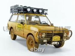 Almost Real 1/18 Land Rover Range Camel Trophy Papua New Guinea 1982 Dirty
