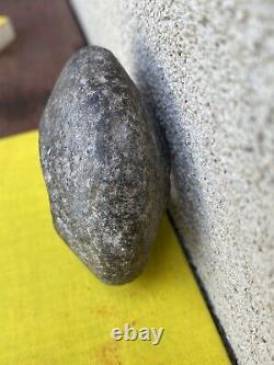 An Ancient Neolithic New Guinea Stone Club Head 1950s Prospector Find
