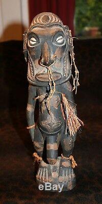 An Exotic Older Mindimbit Village Lower Sepik Fertility Figure PNG 14 1/2h