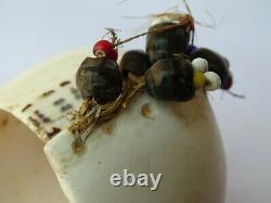 Antique Papua New Guinea Sepik Abelam Shell Trade Bead Currency Bracelet AN2
