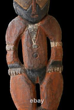 Baton à fouir, digging stick, oceanic art, papua new guinea