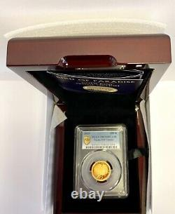 Bird Of Paradise Gold Proof K100 (1/4 Oz. Coin) Papua New Guinea PCGS PR70DCAM