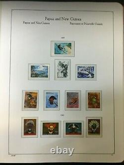 CJL10 Papua New Guinea Mint Unhinged Collection 1952 1990