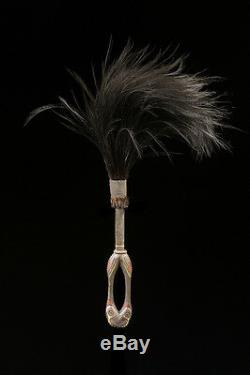Chasse mouches, flies swatter, kwoma people, papua new guinea