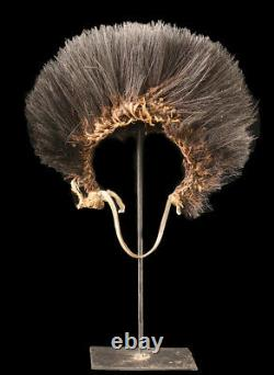 Coiffe de danse en plumes, dancing headdress, papua new guinea
