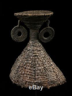 Coiffe de danse, hauts plateaux papous, dancing headdress, papua new guinea