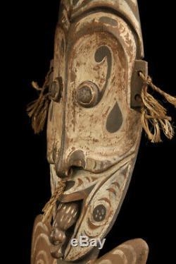 Crochet de suspension, papuan hook, oceanic art, papua new guinea, sepik carving