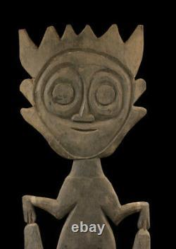Figure de culte, crochet, hook cult figure, blackwater, papua new guinea