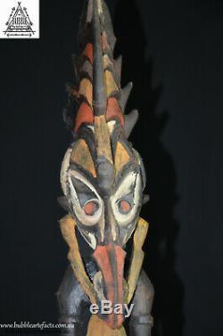 Fine Ancestor Spirit House Figure, Upper Sepik, PNG, Papua New Guinea, Oceanic