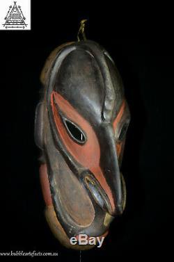 Fine Ancestor Spirit House Mask, Upper Sepik, PNG, Papua New Guinea, Oceanic