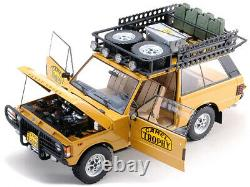 Land/range Rover Camel Trophy Papua New Guinea 1982 1/18 Car Almost Real 810106
