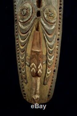 Large Striking Gable Mask Sepik River Papua New Guinea