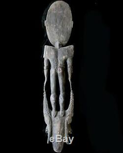 Lower Sepik Papua New Guinea Ancestral Carved Statue Tribal Art