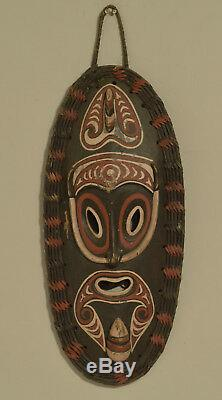 Mask Papua New Guinea Spirit Mask East Sepik Provence Mask