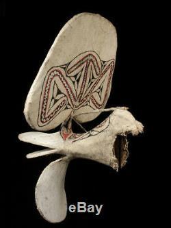 Masque baining, big baining mask, oceanic tribal art, papua new guinea