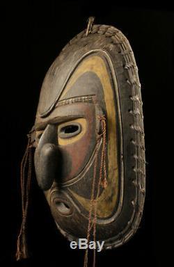 Masque d'ancêtre, spirit mask, sepik, oceanic tribal art, papua new guinea