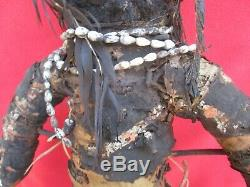 Mendi Valley Headhunter Very Old Mud Payback Doll Papua New Guinea