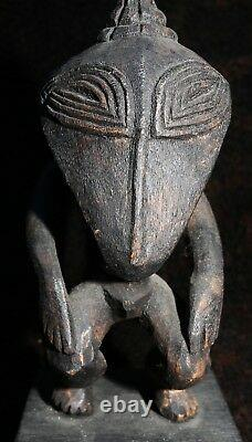 Mid-20th Century Ramu River Hunting Charm or Fetish Figure 5h PNG