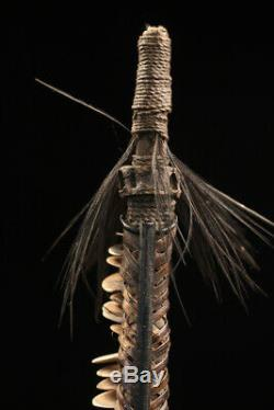 Monnaie bâton, Lumi currency stick, oceanic art, papua new guinea