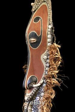 Mwei mask, sepik carving, papua new guinea, oceanic art