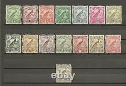 NEW GUINEA 1932-4 SG 177/89 MINT Cat £250