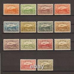 NEW GUINEA 1939 SG 212/25 MINT Cat £1100