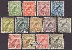New Guinea 18 30 Set Of 13 Mint Lightly Hinged Og No Faults Very Fine
