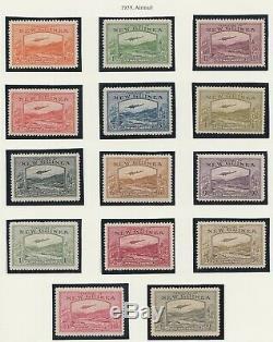 New Guinea 1939 Airmail MINT set sg212-225
