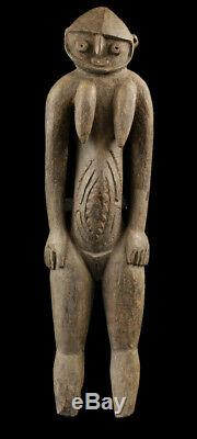 Nogwi figure, waskuk hills, nokuma, oceanic tribal art, papua new guinea