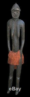 Nogwi figure, waskuk hills, nokuma, tribal art, papua new guinea