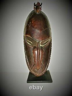 Oceanic Papua New Guinea Sepik/Ramu River Mask. (circa 1940s 50s)