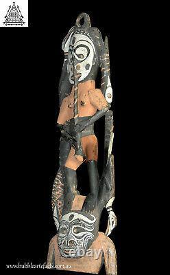 Old Ancestor Spirit Figure, Palambei, PNG, Papua New Guinea, Oceanic