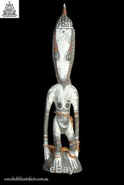 Old Ancestor Spirit Figure Statue, Palambei, PNG, Papua New Guinea, Oceanic