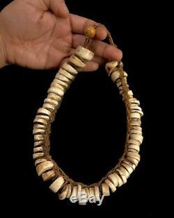 Old Antique Papua New Guinea Sepik River Conus Shell Necklace