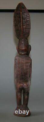Old Lower Sepik Figure Statue Papua New Guinea Png