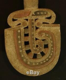 Old Massim Dance Paddle Papua New Guinea