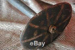 Old Papua New Guinea Highlands Stone Club beautiful collectors item