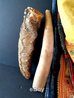 Old Papua New Guinea Penis Gourdes X 2 beautiful collection items