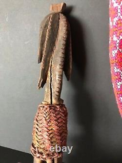 Old Papua New Guinea Sepik River Abelam Yam Peg (c) beautiful collection piece