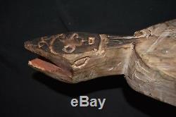 Orig $399 PAPUA NEW GUINEA ASMAT BOWL EARLY 1900S 36 JEAN LAURENT EST