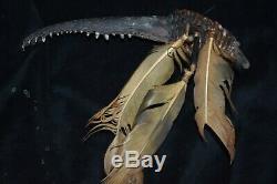 Orig $399 Papua New Guinea Croc Jaw Fetish 12 Prov 1900s