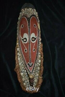 Orig $399 Papua New Guinea Mwai Mask 18 Prov 1900s