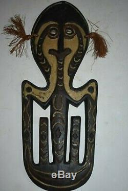 Orig $399 Papua New Guinea Ritual Skull Hook 1900s 16 Prov