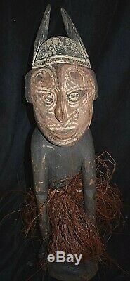 Orig $399-papua New Guinea Figure 1900s 24 Prov